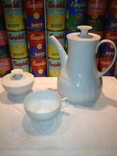 A Rosenthal Thomas Germany Lanzette coffee pot covered sugar bowl & cup Wirkkala