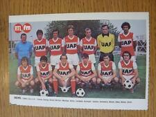 "1976/1977 Football Magazine (France) Colour Team Group [8""x 5""] Cut Outs: Reims"
