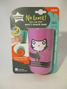 Tommee Tippee No Knock CleverGrip Base Mess-Free Baby Cup. BNIB.