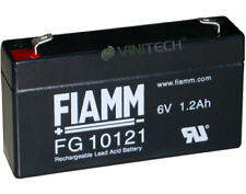FIAMM FG10121 6V 1,2 Ah Bleiakku Blei Gel Akku 10121 ersetzt Yuasa NP1.2-6
