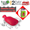 Ess Douche Enema Combination Kit Reusable Home Travel Hot and Cold Water Bottle