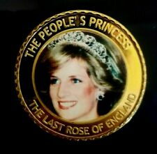 ENGLAND COMMEMORATIVE COINS OF LADY DIANA-PRINCES OF WALES (1961-1997) COIN # 3