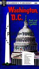 Vintage Reprint - 1960 - Washington, D.C. Punch-Out Book - Reproduction