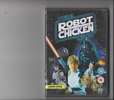 STAR WARS ROBOT CHICKEN DVD COMEDY