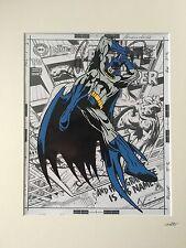 Batman - Design 2 - DC Comics - Hand Drawn & Hand Painted Cel