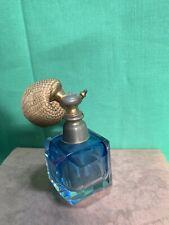 Parfum : vaporisateur, cristal, ancien