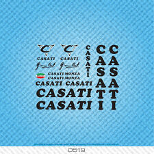 Casati Monza Bicycle Decals - Transfers - Stickers - Set 519