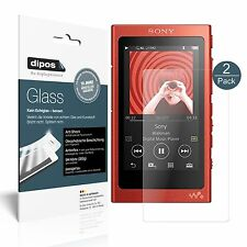 2x Sony Walkman NW-A35HN Pellicola Protettiva Protezione opaco Vetro Flessibile