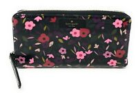Kate Spade Boho Floral Daycation Neda Zip Around Continental Clutch Wallet $158
