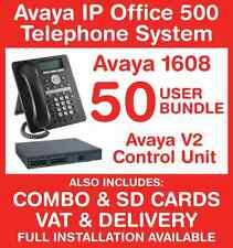 Avaya IP Office Phone System - 50 user bundle - Includes VAT