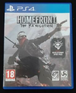BOITIER HOMEFRONT The Revolution - PS4 - TRES BON ETAT - NO GAME
