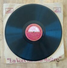 La Catrera, El horizonte, tango, Disque La voix de son maître, 78 trs Gramophone