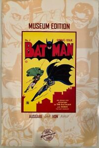 DC BATMAN #1 MUSEUM LIMITED EDITION 641/1500 GERMAN EDITION COMIC
