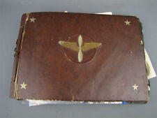 Vtg 1930s-60s Family Scrapbook/Photograph Albums Military Chrysler ID'd Miami FL