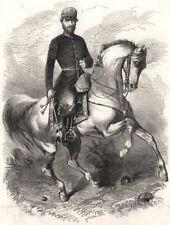 General Prim, comandante del Segundo Cuerpo del Ejército español en Marruecos, 1860