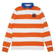 Ralph Lauren Polo Men's Long Sleeve Rugby Shirt 100% Cotton Retail $145 NWT