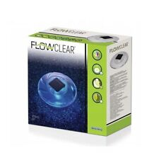 Bestway Solar Powered LED Floating Pool Night Light Auto On Color Changing