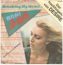 "< 341 > 7"" single: RONI GRIFFITH-Breaking My Heart/Don 't live in a Fantasy"