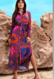Cascara Paisley Shirt dress Guess by Marciano
