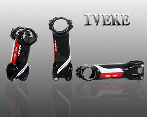 1 1/8 alloy + carbon fiber 31.8 Bicycle MTB road bike STEM 60 70 80 90 110 mm