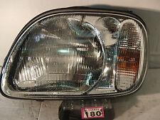Nissan Micra K2 1998-2000 Lado Izquierdo Pasajero Cercano headligt Nis 180L