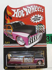 HOT WHEELS 2013 COLLECTOR EDITION MAIL IN - PURPLE PASSION WOODY FACTORY SEALED