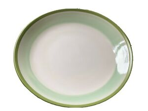 DENBY INTRO ALFRESCO GREEN 28cm DINNER PLATE PERFECT CONDITION - More Available