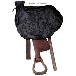 Stc Western Saddle Cover Black Waterproof