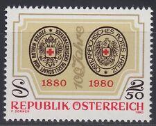 Österreich Austria 1980 ** Mi.1634 Rotes Kreuz Red Cross Siegel Seal