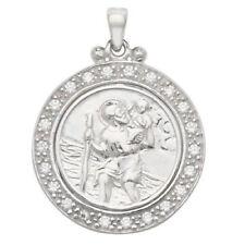 Gioielli di lusso zirconia cubici trasparenti argento sterling