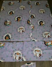 Disney Aladdin Princess Jasmine Raja Floral Window Curtain Panels Valances Set