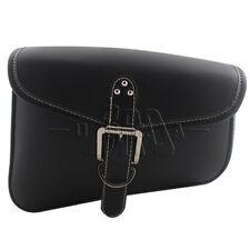 Right side PU Leather Saddlebag Saddle Bag For Harley Sportster 48 72 883 1200
