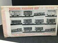 Kenline raiway kit OO LMS coke wagon n°2  4mm with wheels