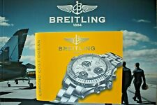 BREITLING CHRONO COLT OCEAN WATCH INSTRUCTION SERVICE MANUAL BOOK GUIDE BOOKLET