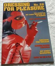 Dressing For Pleasure Magazine No 28  From Shiny Publication Rubber PVC & Latex