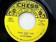 Etta James: Fool that I Am / Something's Got a Hold On Me  [Unplayed Copy]