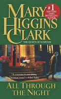 All Through the Night by Mary Higgins Clark (English) Mass Market Paperback Book