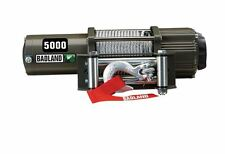 5000 lb ATV Utility Electric Winch Automatic Load-Holding Brake Jeep Truck Ford