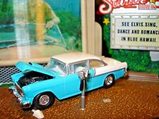 1955 CHEVROLET BELAIR LIMITED EDITION 1/64 TUTONE 1950'S STREET CRUISER HW