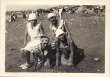 Snapshot femmes vacances Ault aout 1929 pin-up  stars photographe animée mode