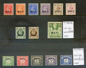 British Occupation of Italian Colonies, MEF 1942-3 mint l.h. (2021/09/29#09)