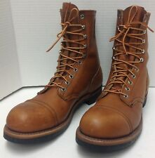 RARE Vintage RED WING Steel Toe Work Boots, Style 915, Size 10.5 B