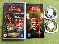 Pitates of the Caribbean Collectors Edition PlayStation Portable, PSP, Complete