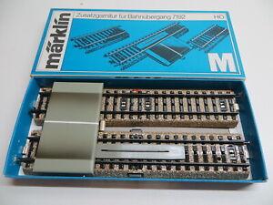 Märklin H0 7193 Additional Fitting For Crossing 7192 Asphalt Road Sauber Boxed