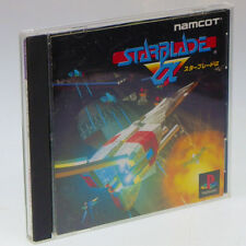 STAR BLADE Alpha PS1 Sony Japan Import PlayStation PSX NTSC-J look somewhat used