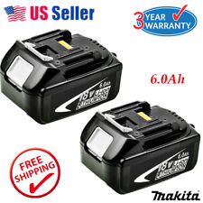 2X For Makita BL1860 BL1845 LXT 18V 6.0Ah Lithium Ion Battery BL1840 BL1830 NEW