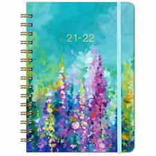 Planner Weekly Amp Monthly Planner With Tabs 2021 2022 63 X 84 Hardcover