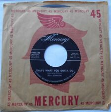 ELLA JOHNSON That's What You Gotta Do/What A Day Ex to NM- USA 1956 R&B JAZZ 4
