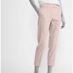 Fabiana Filippi Light Pink Deruta Cotton Trouser Pants Size 6 | XS
