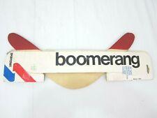 "Vintage Sportcraft Boomerang Wooden 16"" Boomerang USA 80s Model 11080"